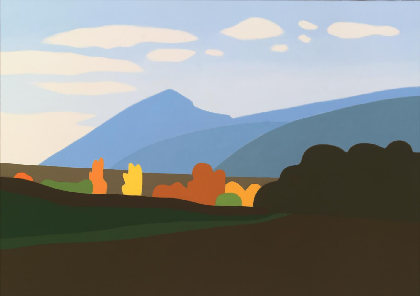 Higa de Monreal, 65 x 92 cm, óleo lienzo, 2007.