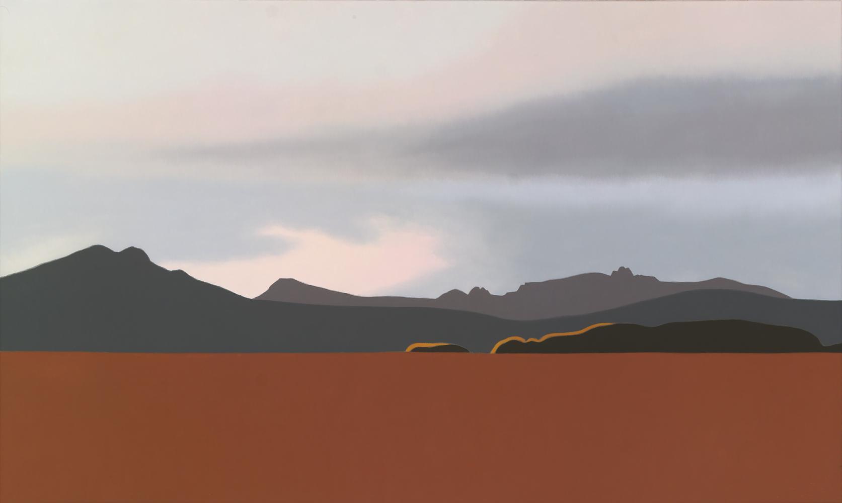 Desde Sorlada, 60 x 100 cm, óleo lienzo, 2007.