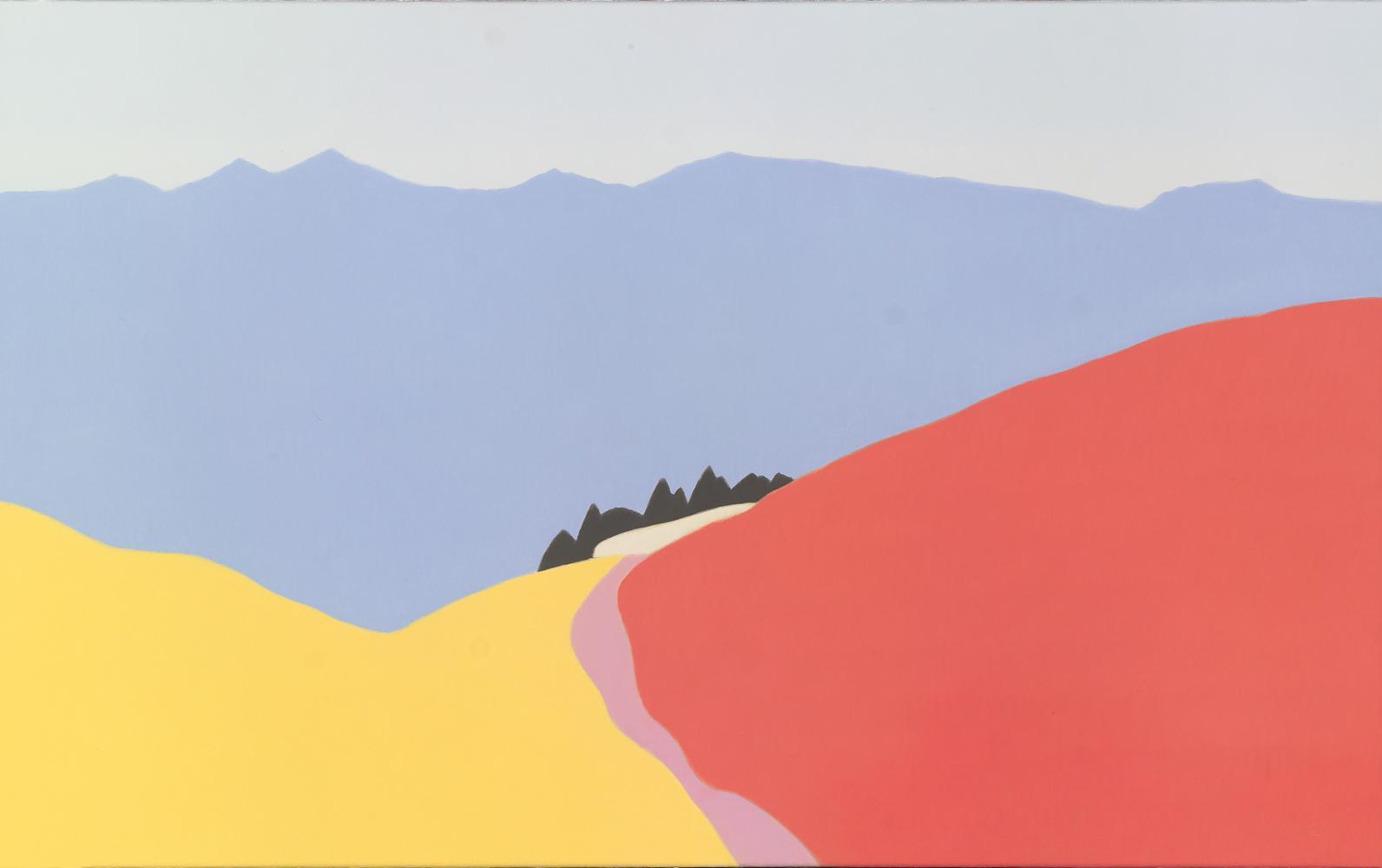 Pirineo de Andorra, 50 x 80 cm, óleo lienzo, 2007.