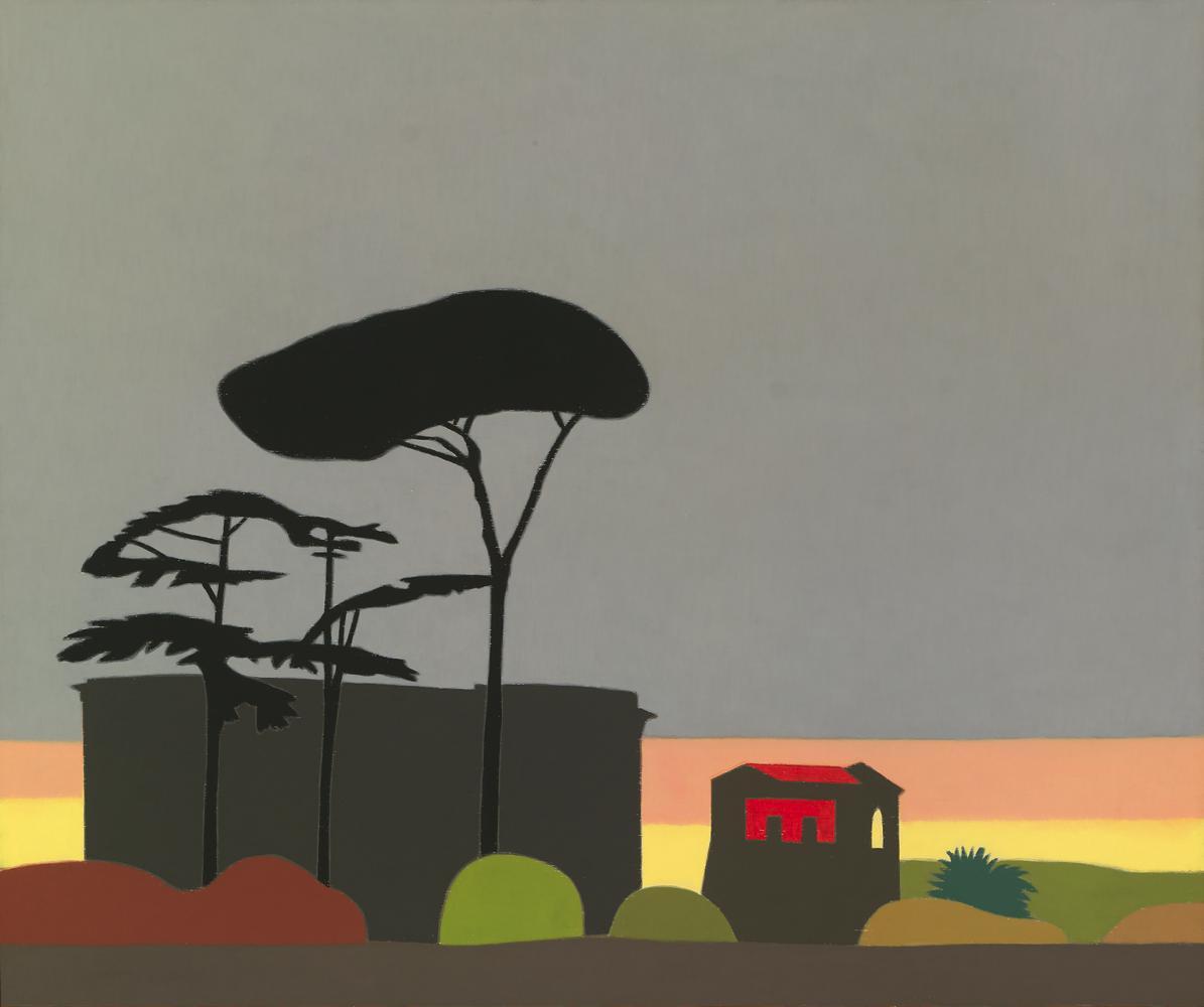 Palatino, 48 x 58 cm, óleo sobre madera, 2007.