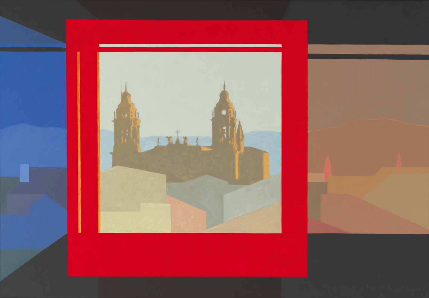 Diapositiva (desde el Maisonnave), 81 x 116 cm, óleo lienzo, 2003.
