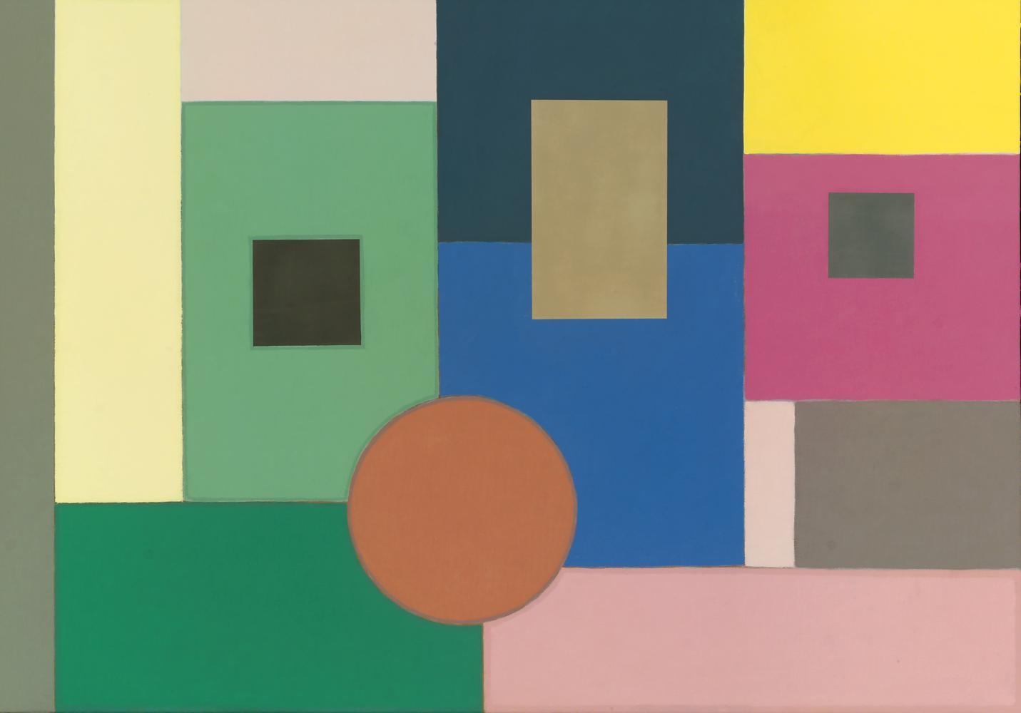 Sin título, 81 x 116 cm,  cm, óleo lienzo, 2010.