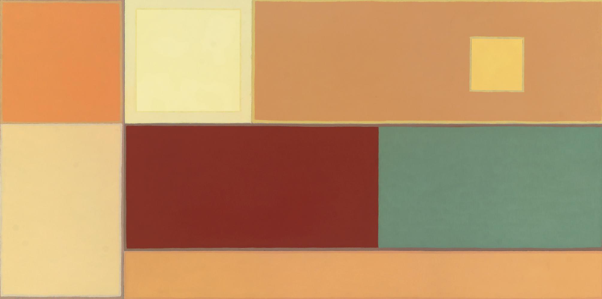Sin título, 60 x 120 cm,  cm, óleo lienzo, 2010.