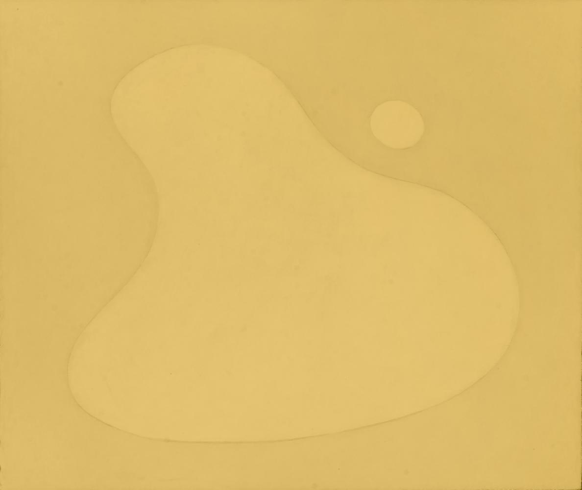 Para Hans Arp, 76 x 88 cm, óleo madera, 2009.