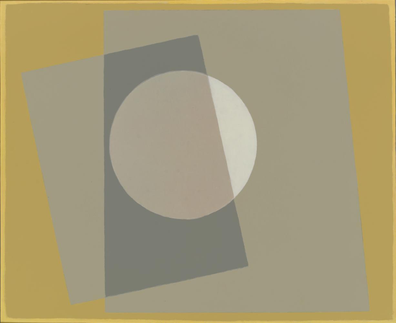 A Ben Nicholson, 63 x 74 cm, óleo madera, 2009.