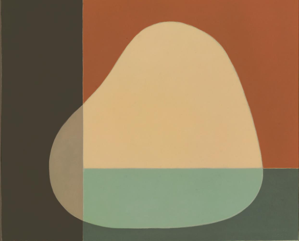 Sin título, 60 x 71 cm, óleo madera, 2007.