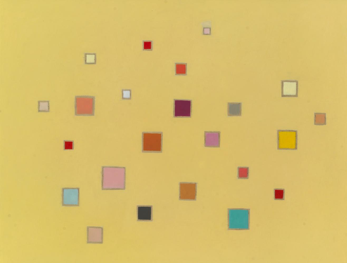 Música, 61 x 76 cm, óleo madera, 2009.