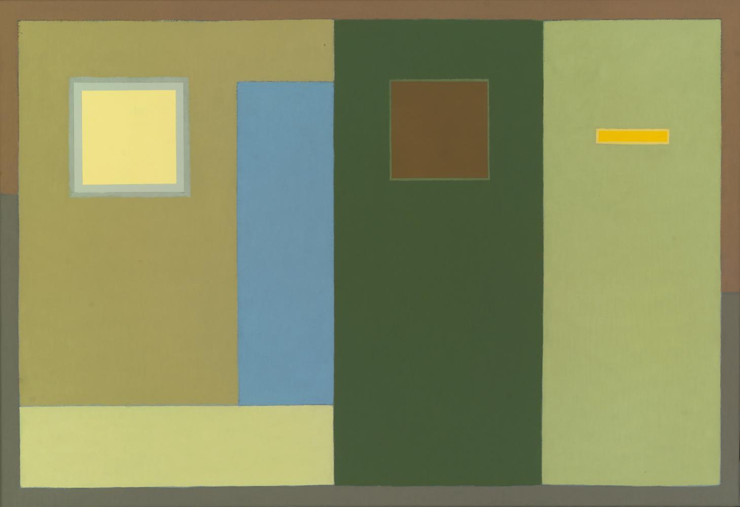 Sin título, 50 x 73 cm, óleo lienzo, 2010.