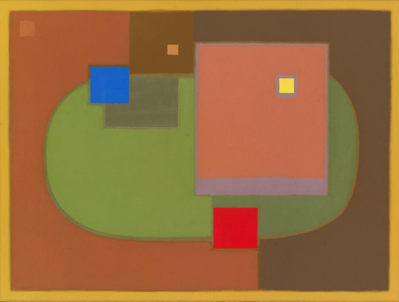 Sin título, 46 x 61 cm, óleo lienzo, 2006.