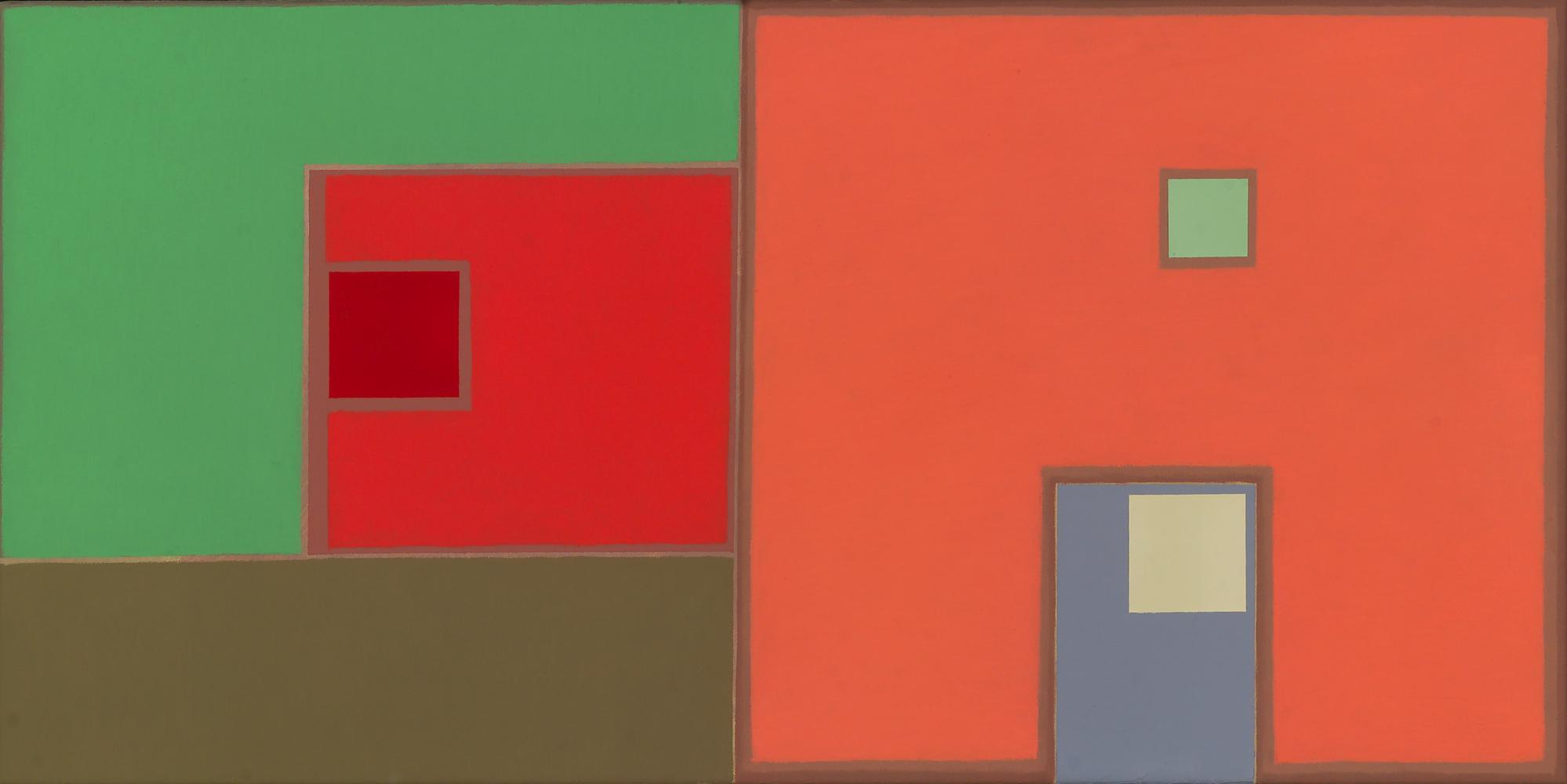 Sin título, 30 x 60 cm, óleo lienzo, 2007.