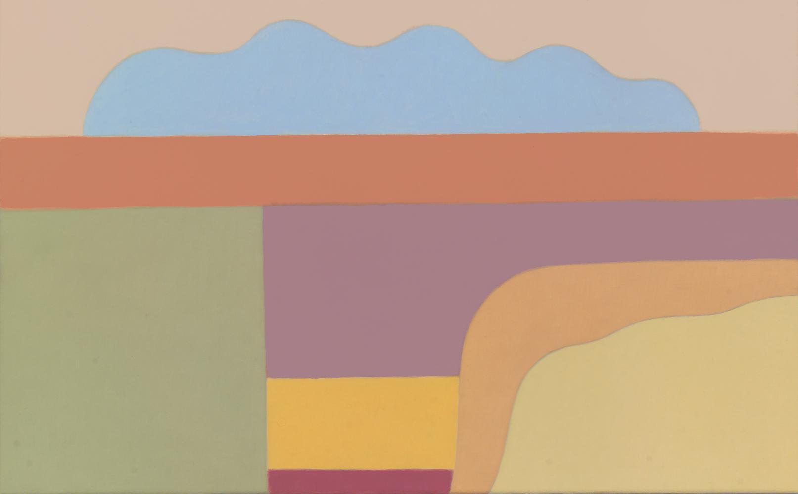 Sin título, 38 x 61 cm, óleo lienzo, 2011.