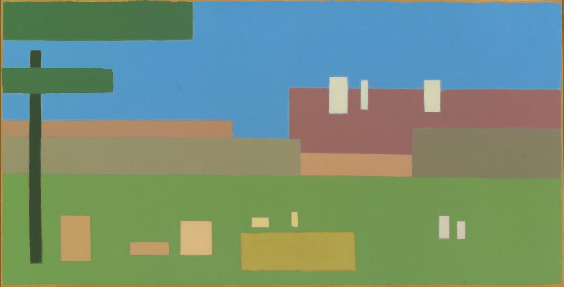 Segantini en los Alpes, 29 x 57 cm, óleo lienzo, 2009.