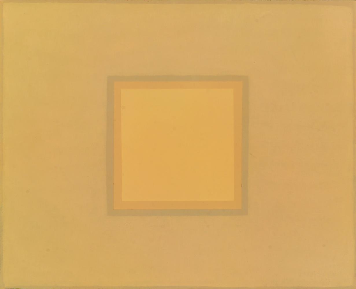A Josef Albers, 32 x 29 cm, óleo madera, 2007.