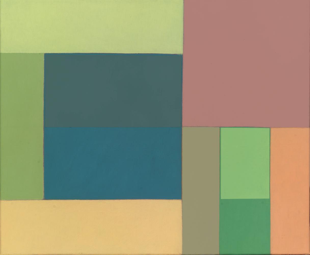 Sin título, 38 x 46 cm, óleo lienzo, 2010.