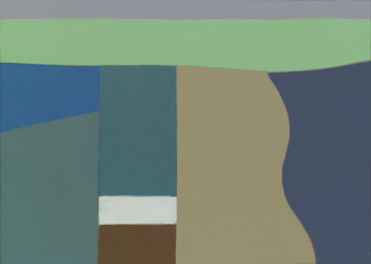 Sin título, 33 x 44 cm, óleo lienzo, 2011.