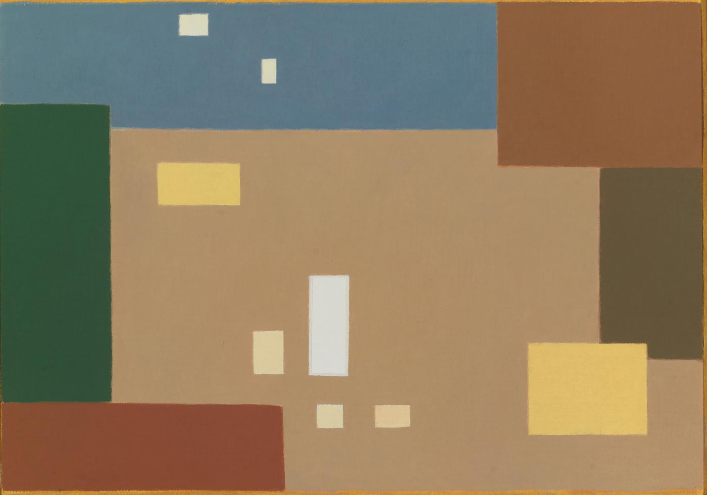 A Poussin, 27 x 38 cm, óleo lienzo, 2009.