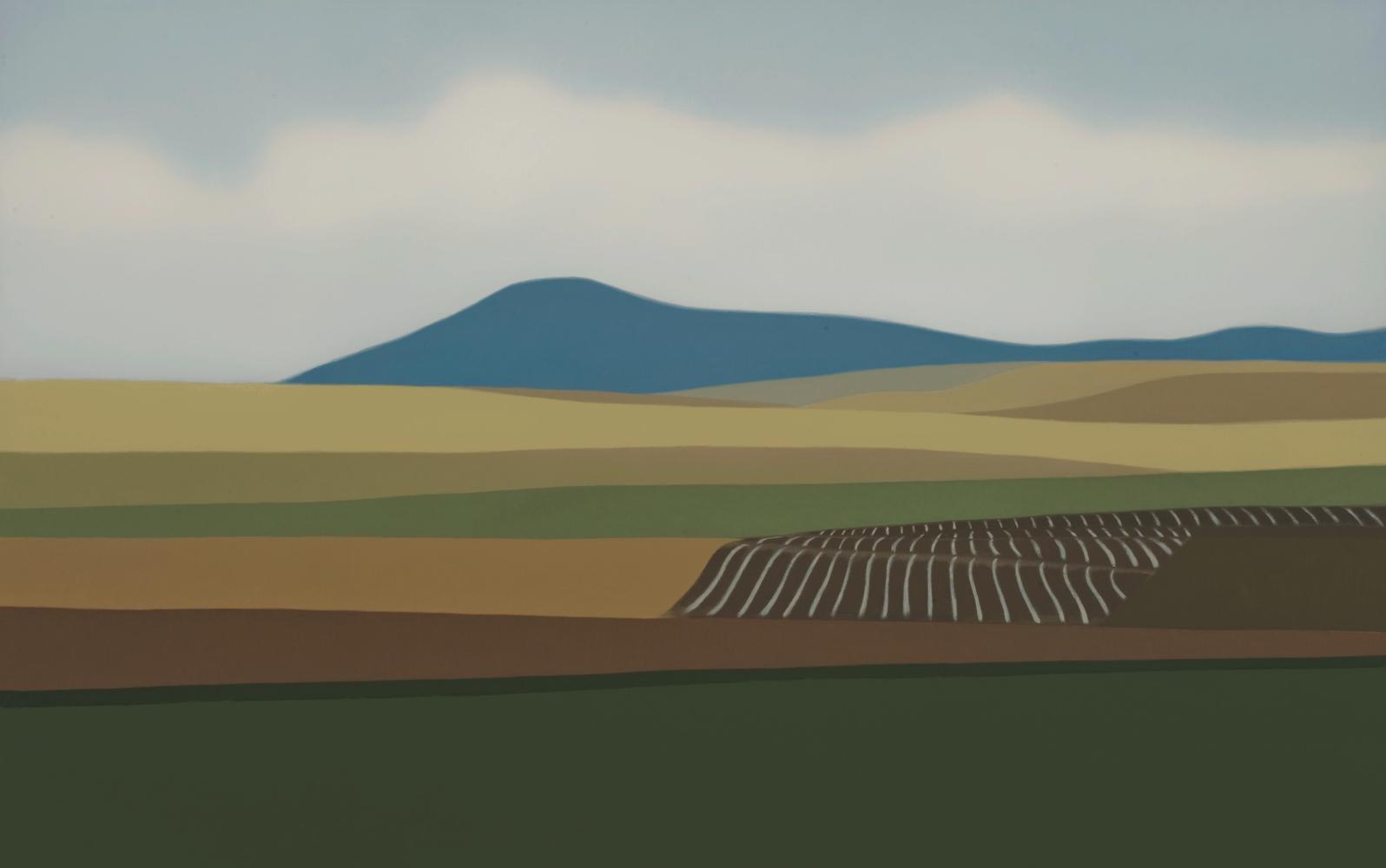 Valle de Yerri, 73 x 116 cm, óleo lienzo, 2011.