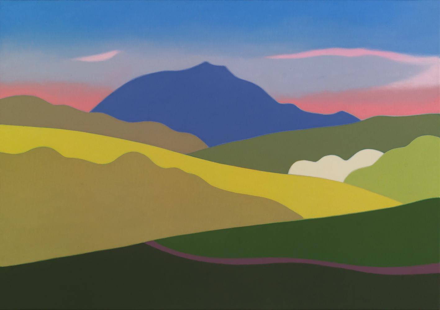 Baztán, 65x 92 cm, óleo lienzo, 2012.