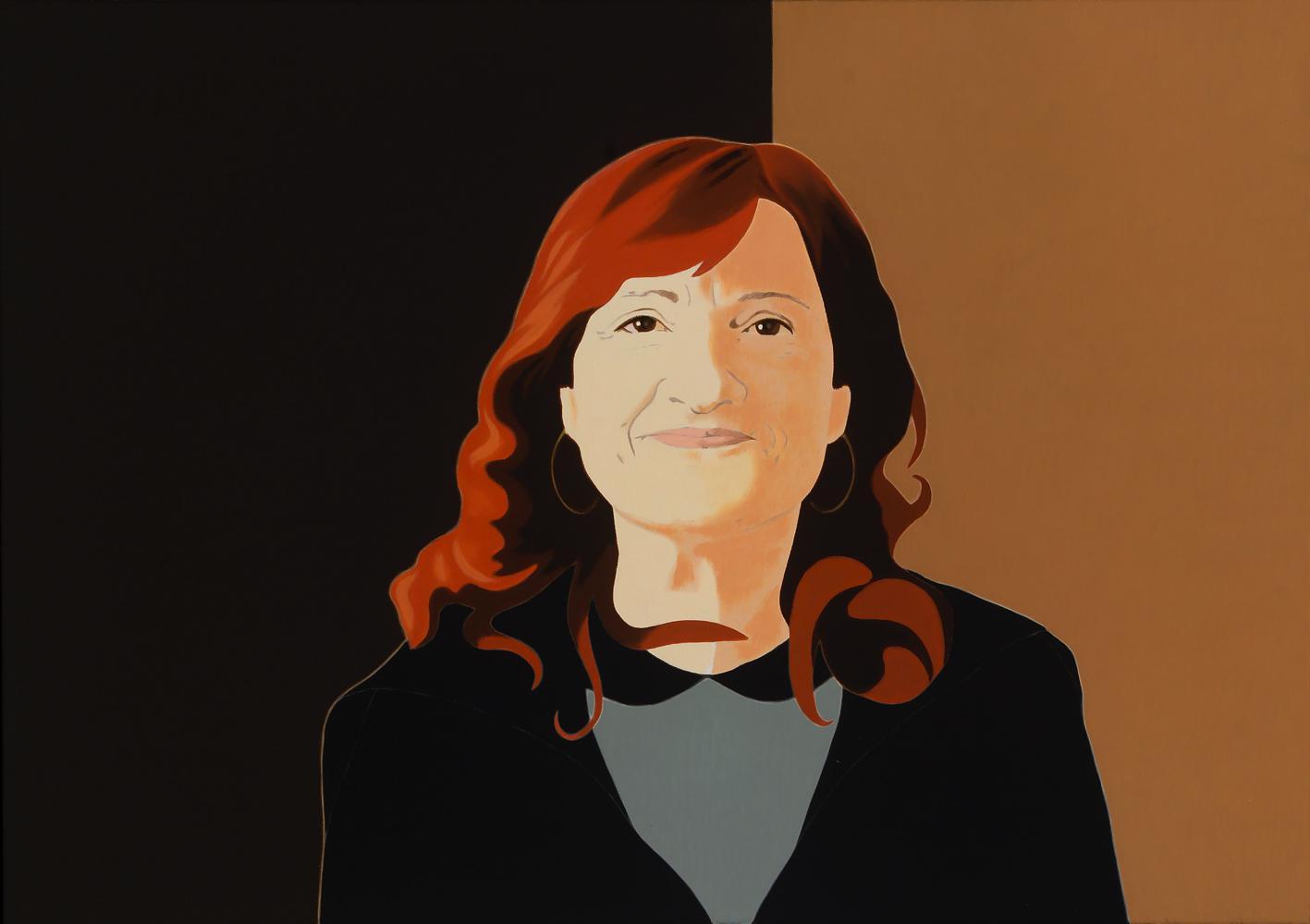 Juana, 65 x 92 cm, óleo lienzo, 2014.