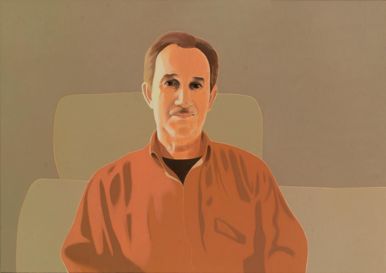 Carlos, 65 x 92 cm, óleo lienzo, 2014.