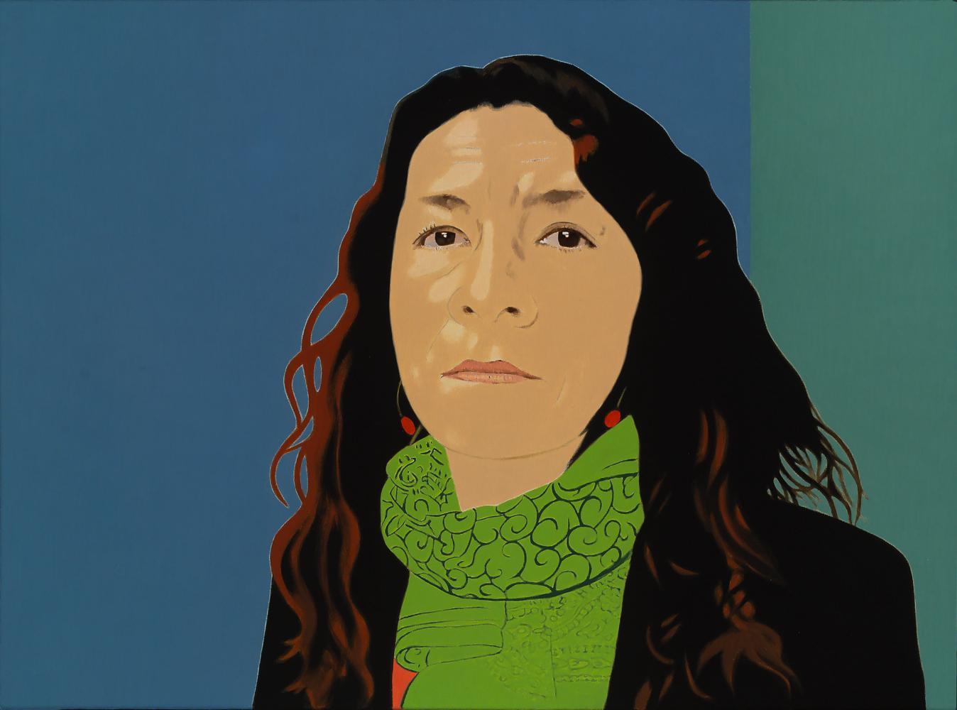 Carmen, 54 x 73 cm, óleo lienzo, 2014.
