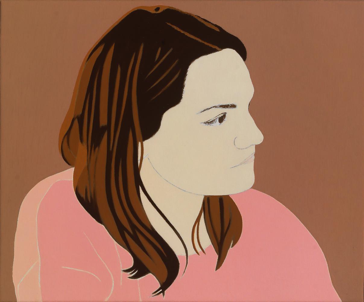 Elena, 38 x 46 cm, óleo lienzo, 2014.