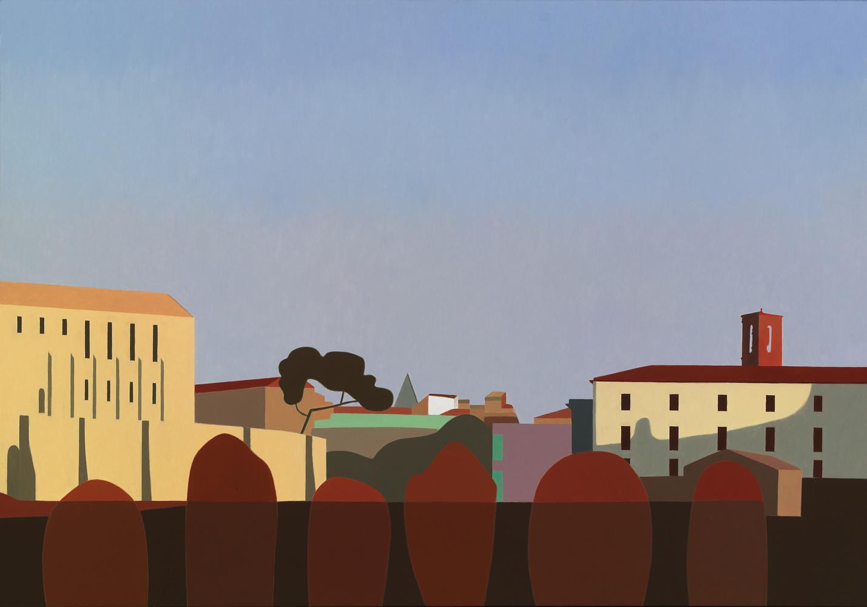 Archivo y Educación, 81 x 116 cm, óleo lienzo, 2012.