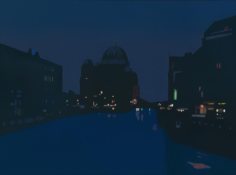 Berlín, 54 x 73 cm, óleo lienzo, 2012.