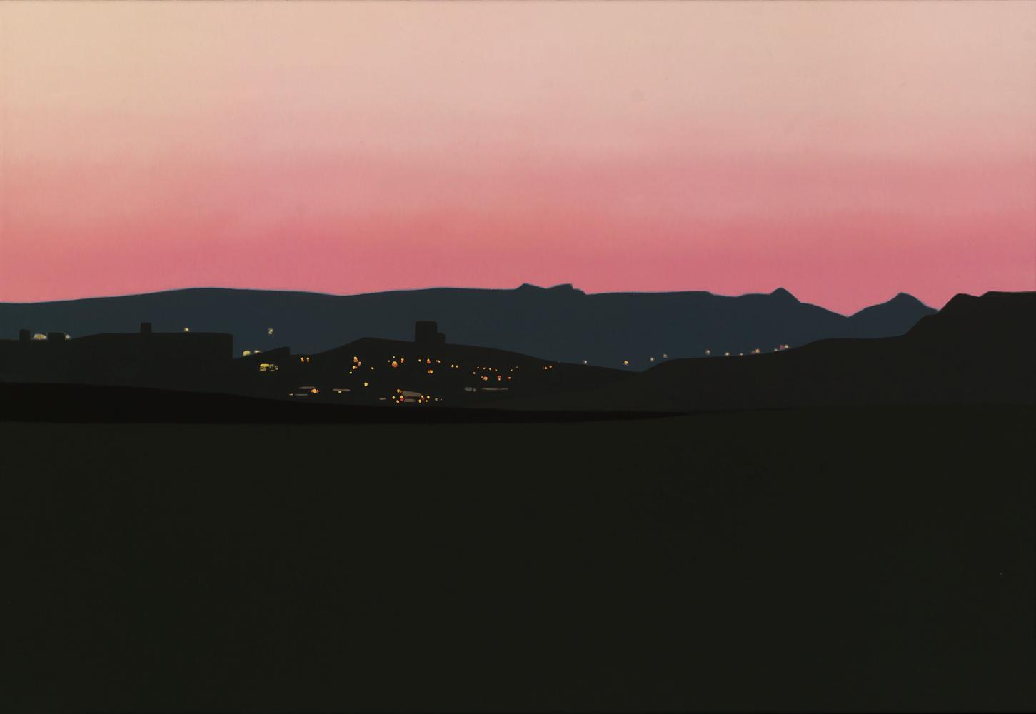 Burlada, 50 x 73 cm, óleo lienzo, 2012.
