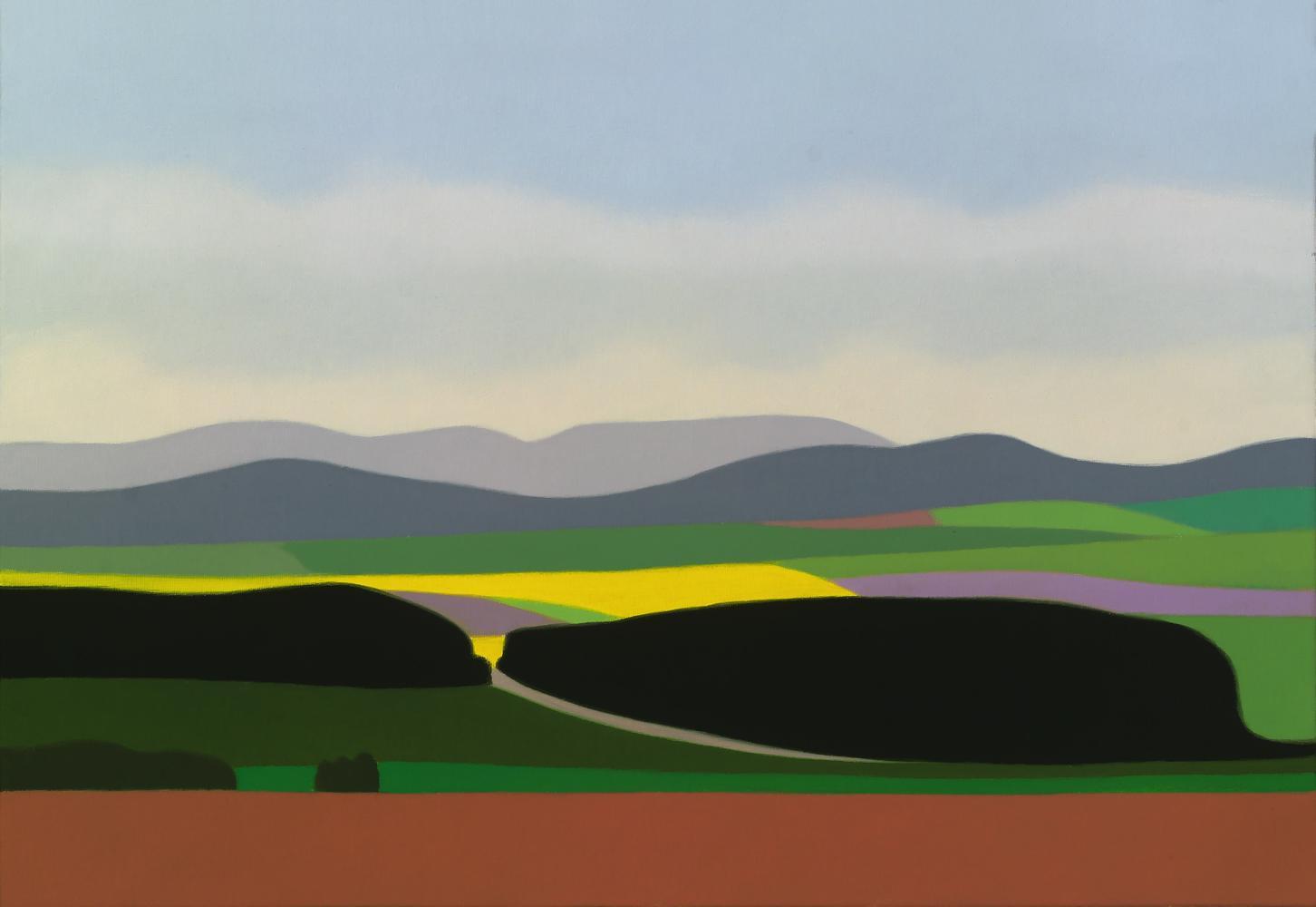Colza, 38 x 55 cm, óleo lienzo, 2012.