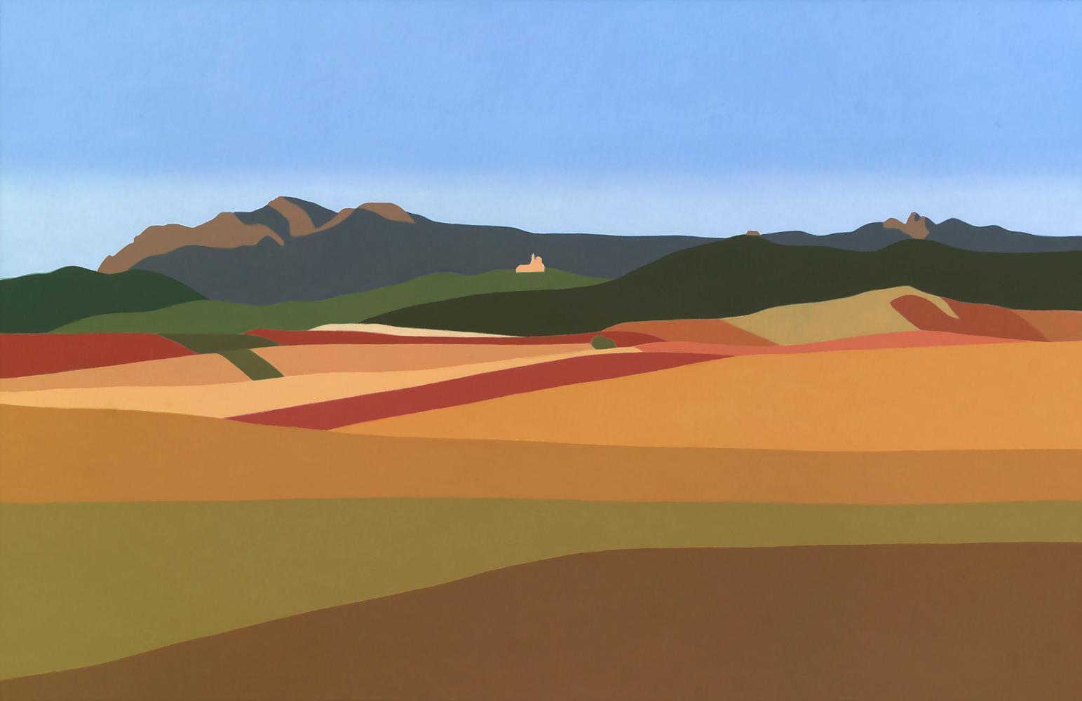 La Berrueza, 65 x 100 cm, óleo lienzo, 2015.
