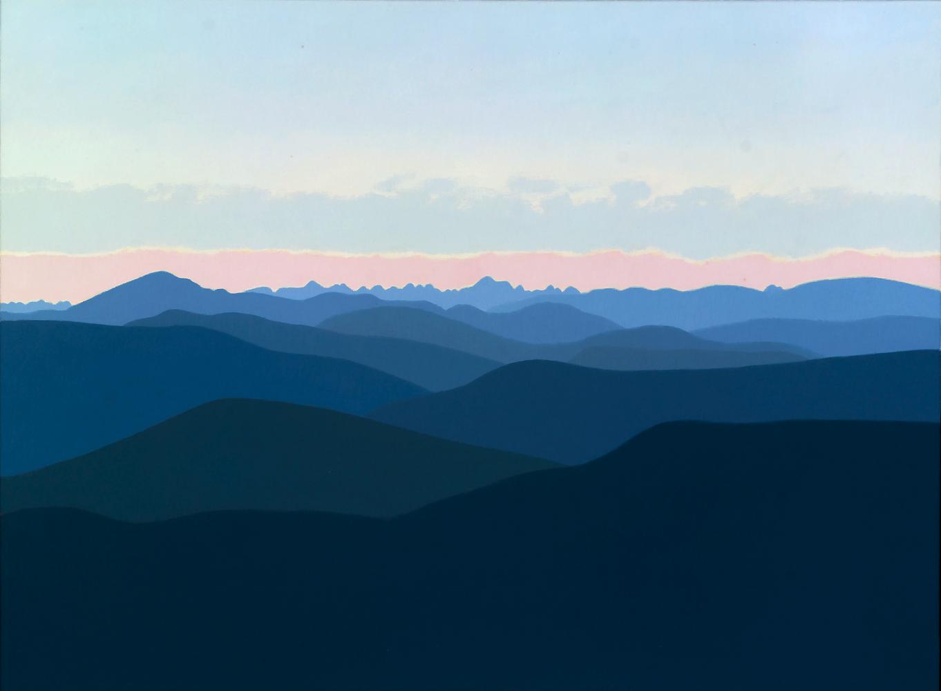 Pirineos, 54 x 73 cm, óleo lienzo, 2015.