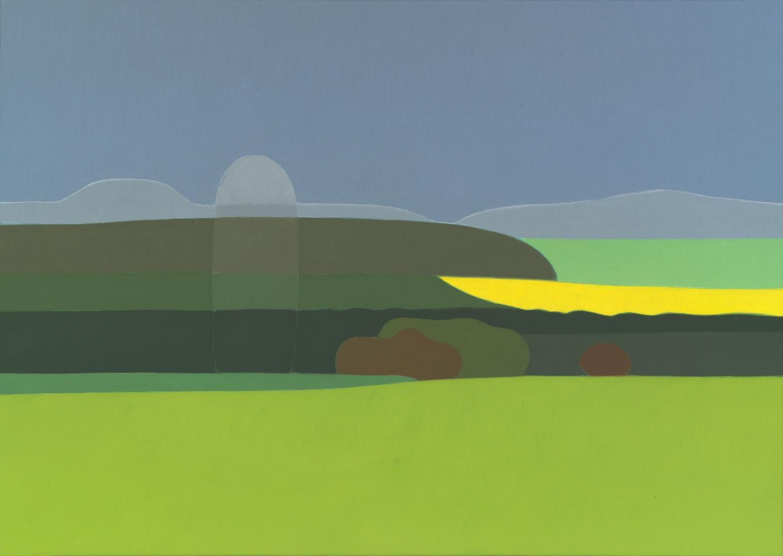 Sin título, 46 x 65 cm, óleo lienzo, 2006.