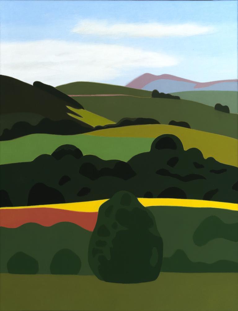 Baztan, 65 x 50 cm, óleo lienzo, 2005.