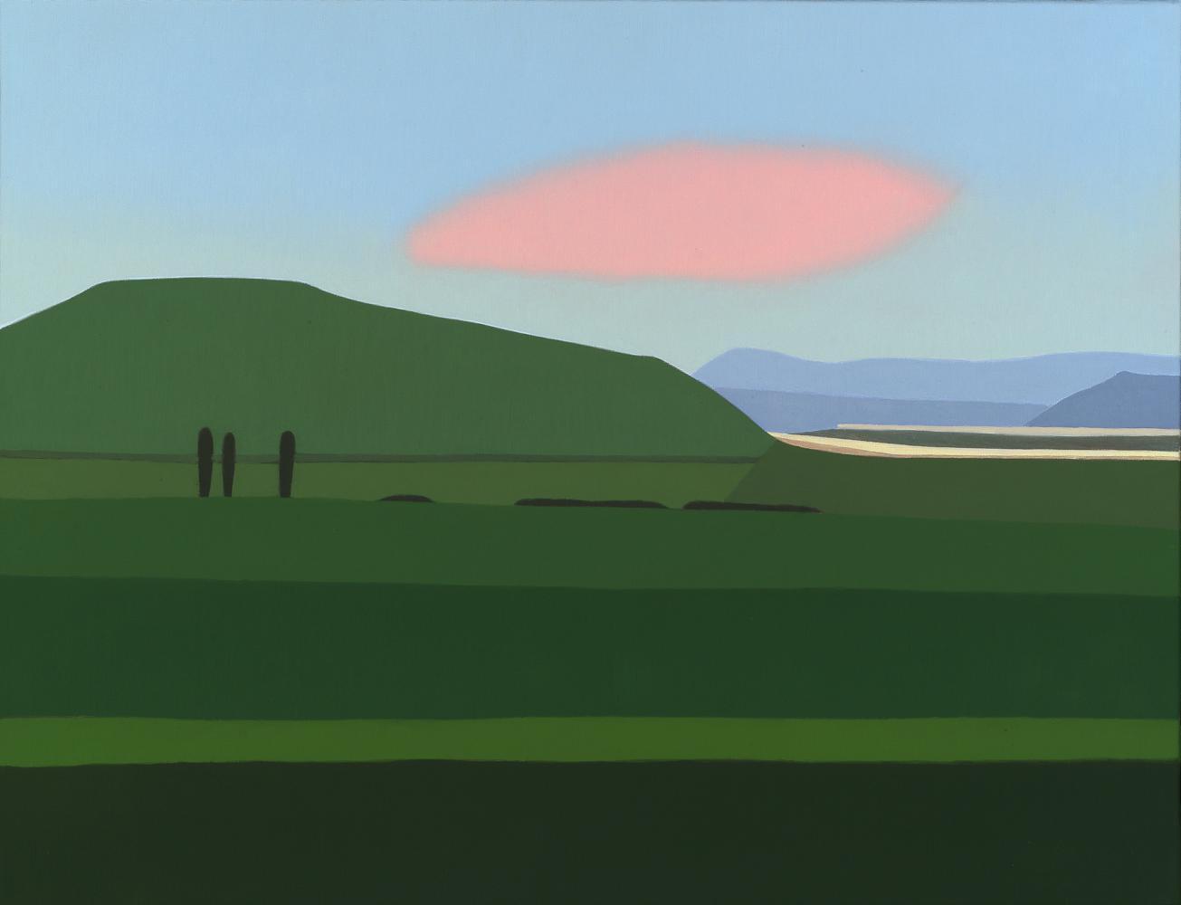 Canal de Navarra, 50 x 65 cm, óleo lienzo, 2005.
