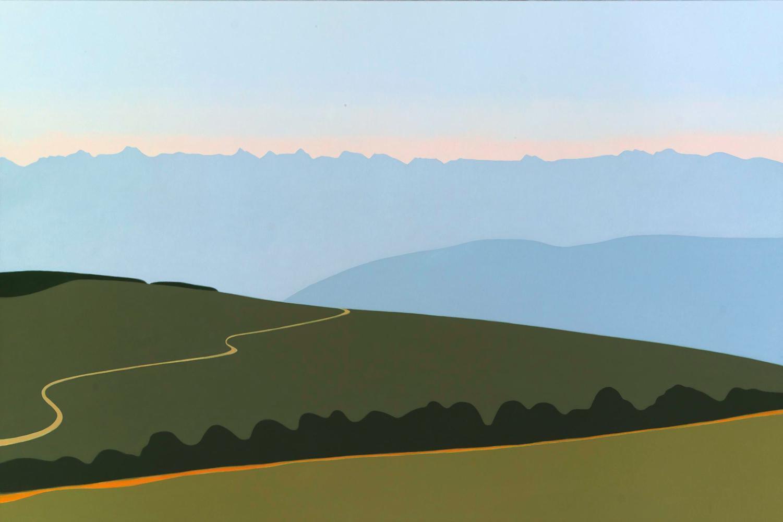 Pirineos, 97 x 146 cm, óleo lienzo, 2006.
