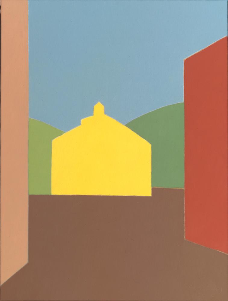 Olleta, 46 x 61 cm, óleo lienzo, 2003.