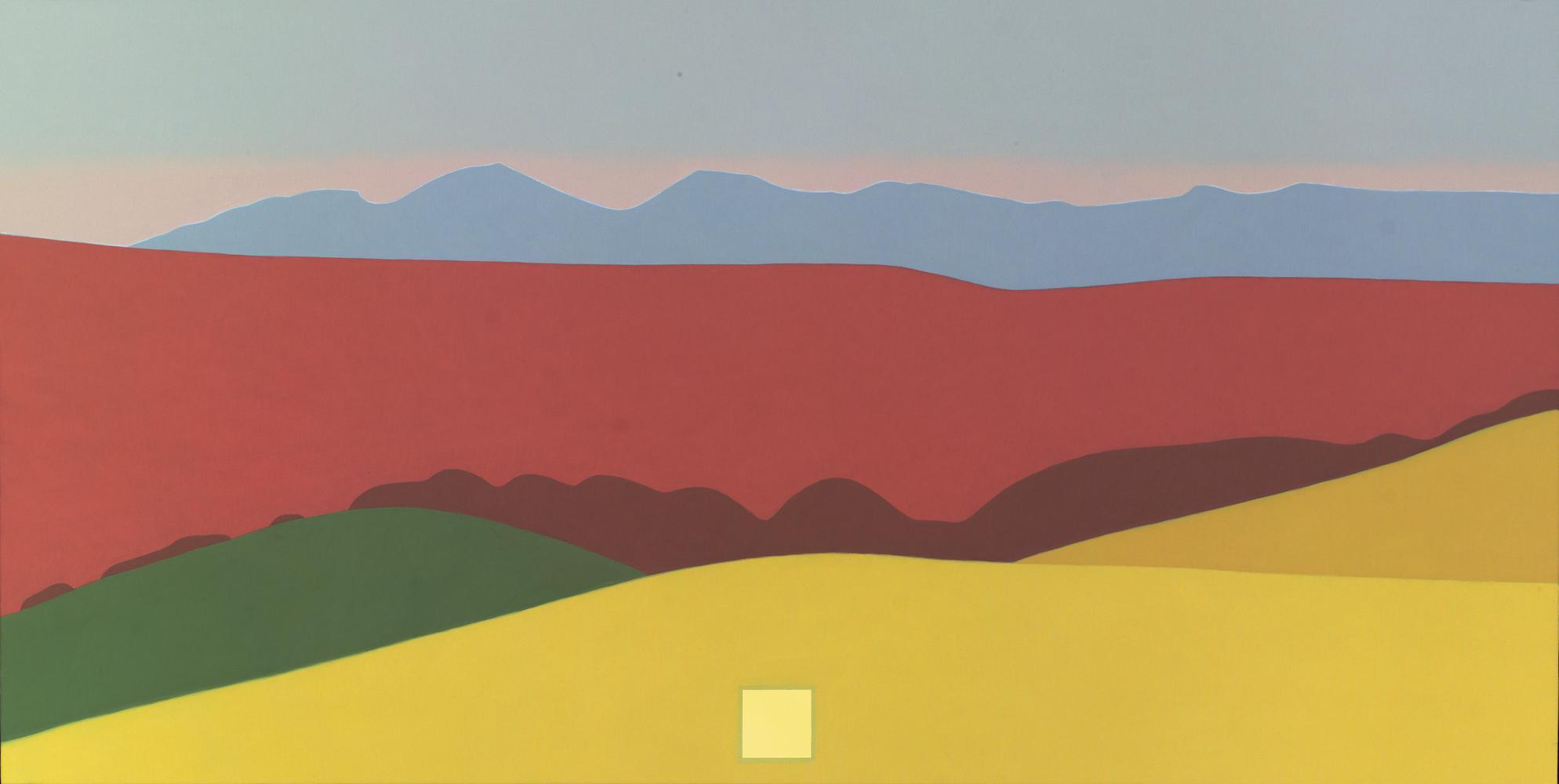 Baztan, 80 x 160 cm, óleo lienzo, 2007.