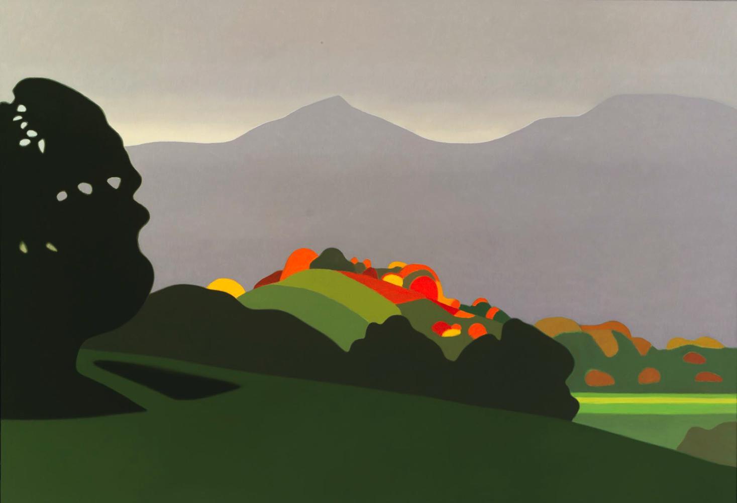 Baztan, 89 x 130 cm, óleo lienzo, 2007.